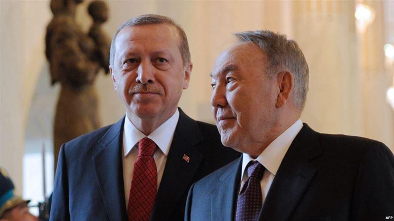 Между Нурсултаном Назарбаевым и Эрдоганом состоялся телефонный разговор