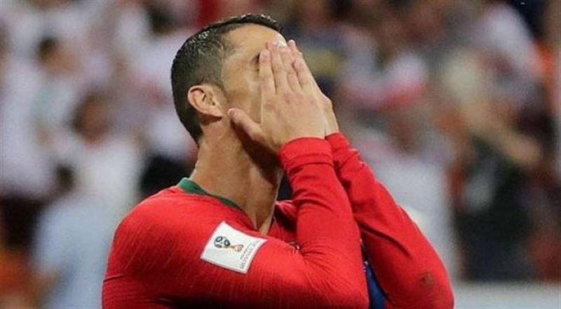 ВИДЕО: Роналду пенальтиден гол сала алмай, тарихқа енді