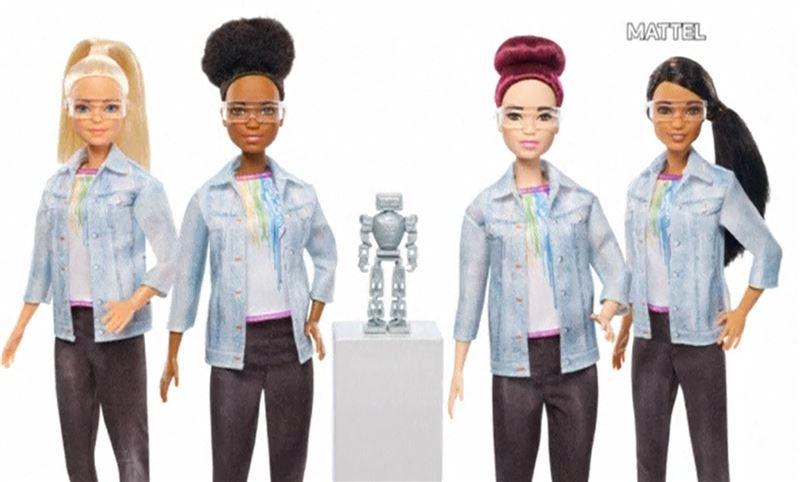 Кукла Barbie стала робототехником
