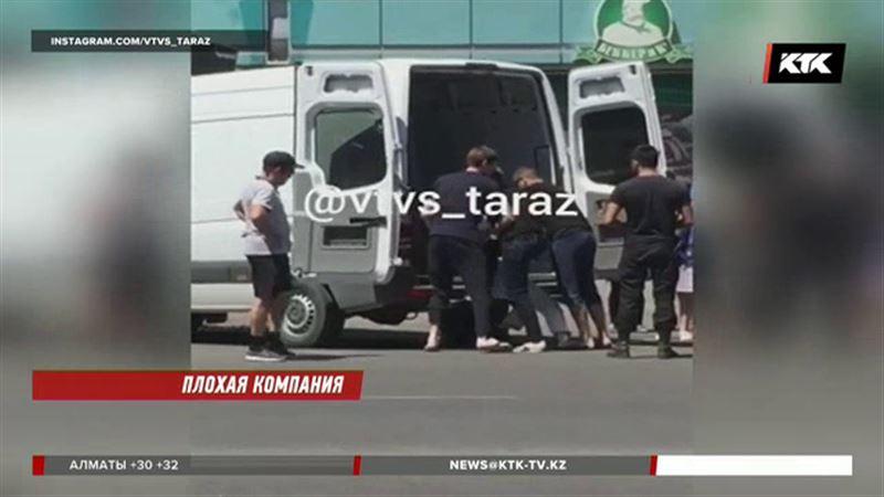 Таразцы помешали банде похитить человека