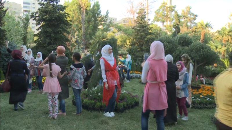 ВИДЕО: Сирияда бейбітшілік орнағандай
