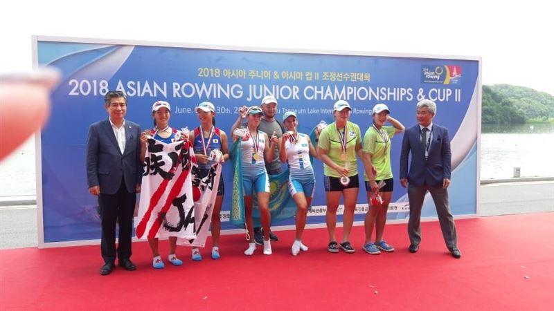 Академиялық ескек есушілер Азия кубогында 2 алтын медаль жеңіп алды