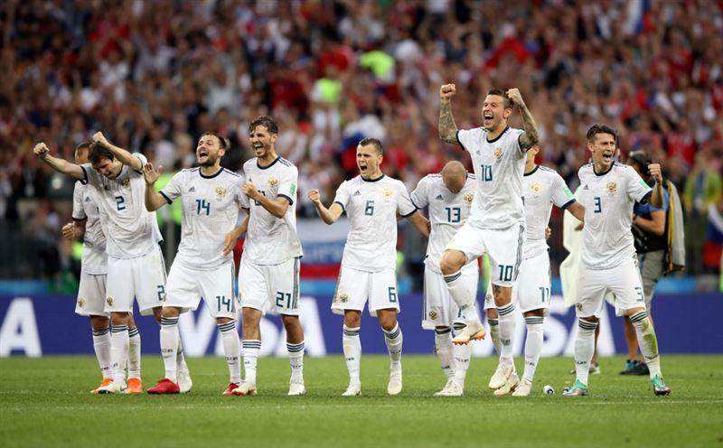 Россия одержала победу над Испанией и вышла в четвертьфинал