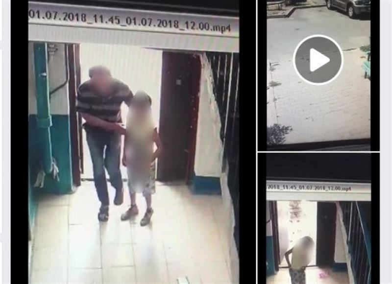 В Шымкенте полицейские задержали мужчину, подозреваемого в нападении на ребенка