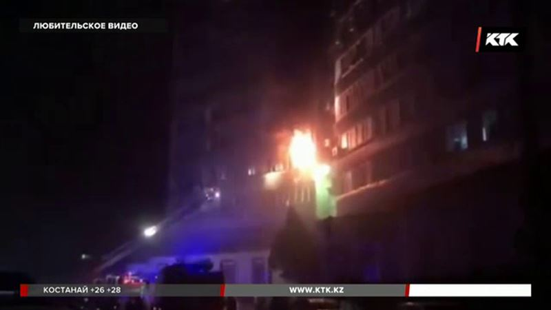 В сгоревшей актауской квартире нашли тело женщины