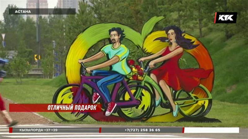 Фонтан, мост, сквер – Астана принимает подарки