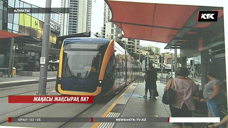 Алматы көшелерімен трамвай қайта қатынайтын болды