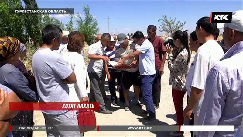 В Туркестанской области изымают плодородные земли, чтобы построить микрорайон