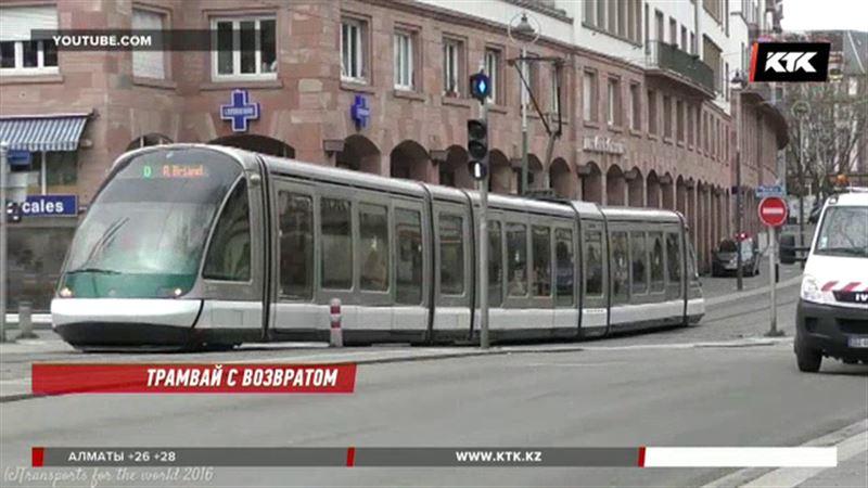 В Алматы снова появятся трамваи