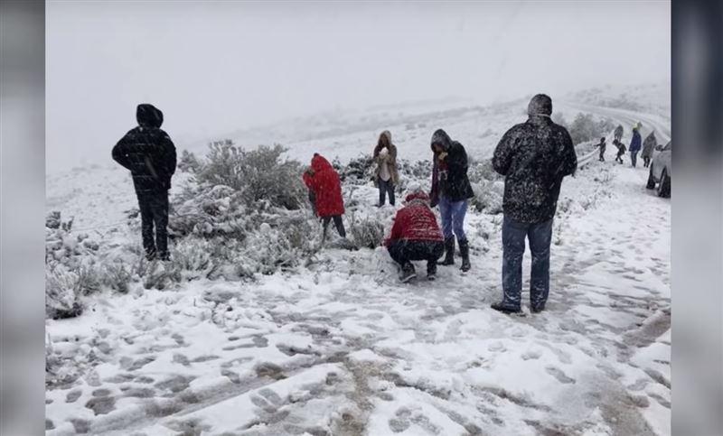 В Южной Африке впервые за десять лет выпал снег