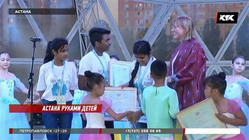 Дети рисовали главный город страны