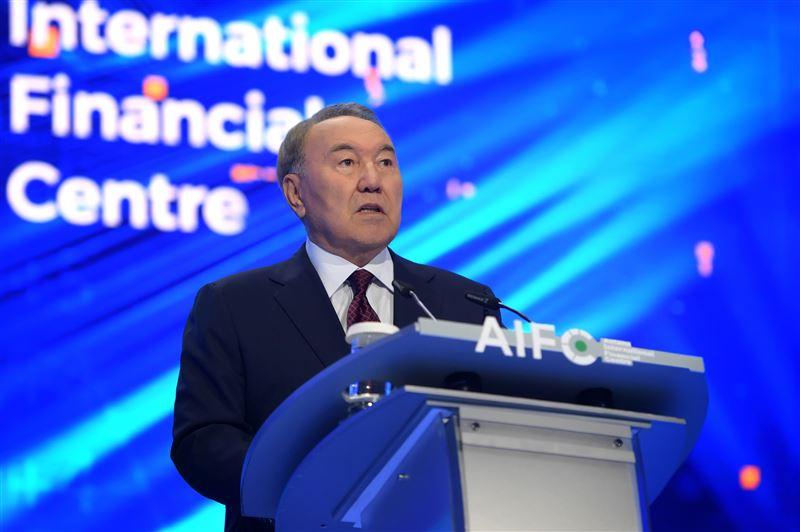 Нурсултан Назарбаев принял участие в открытии Международного финансового центра «Астана»