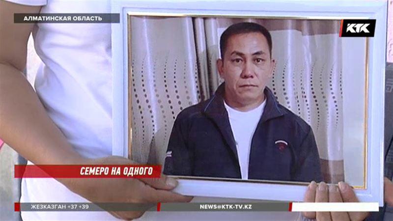 Семеро на одного: убийство отца четверых детей всколыхнуло Иссык