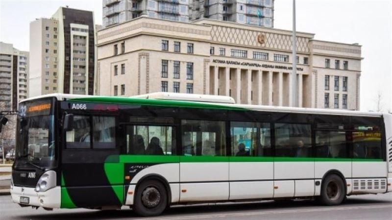 Бүгін Астанада автобустар түнгі сағат екіге дейін жүреді