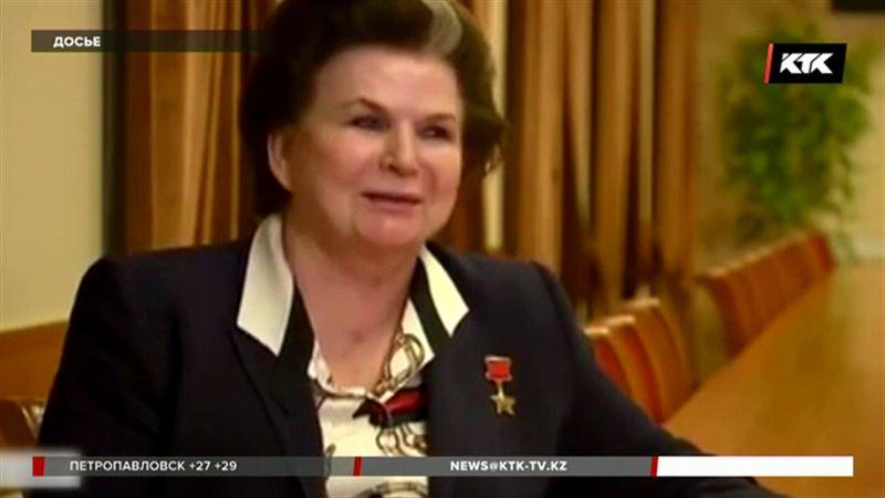 Переименовать Астану предложила Валентина Терешкова