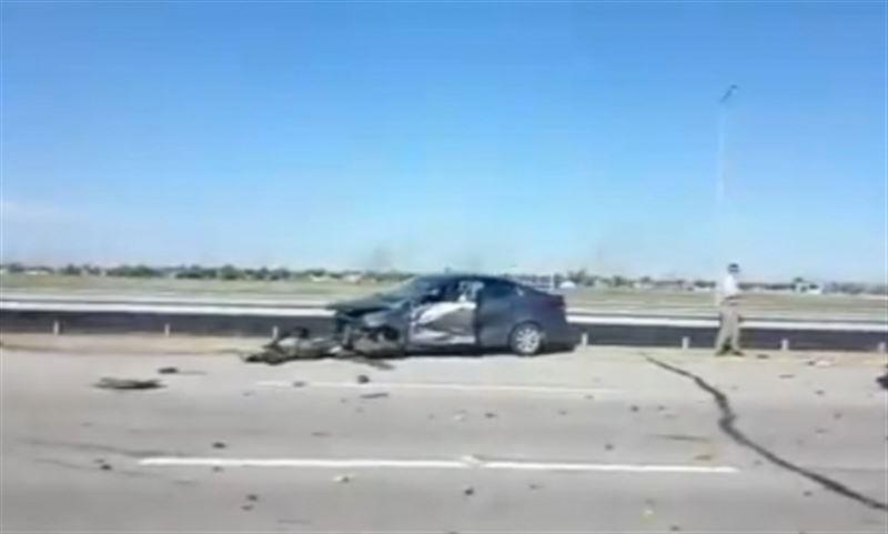 ВИДЕО: Астана-Көкшетау тас жолында жол апаты болды