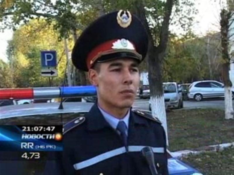 В Петропавловске на сержанта дорожной полиции напала пьяная компания