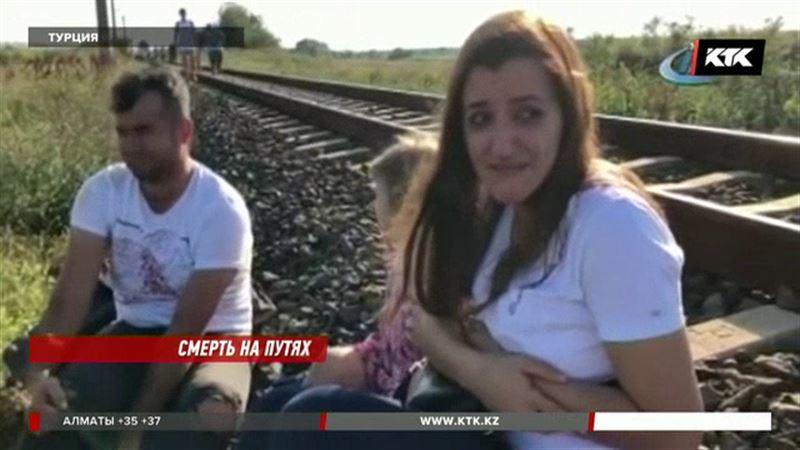 В железнодорожной катастрофе в Турции погибли 24 человека