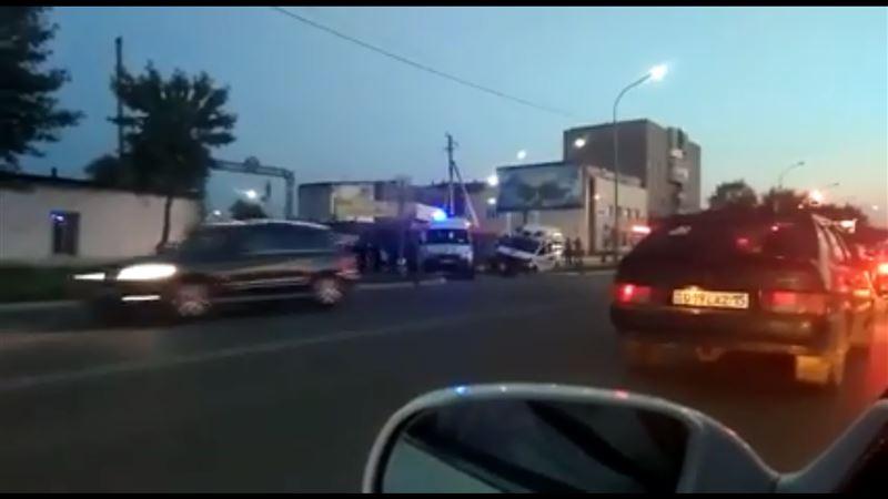 Тройное ДТП с участием машины скорой помощи произошло в Кокшетау