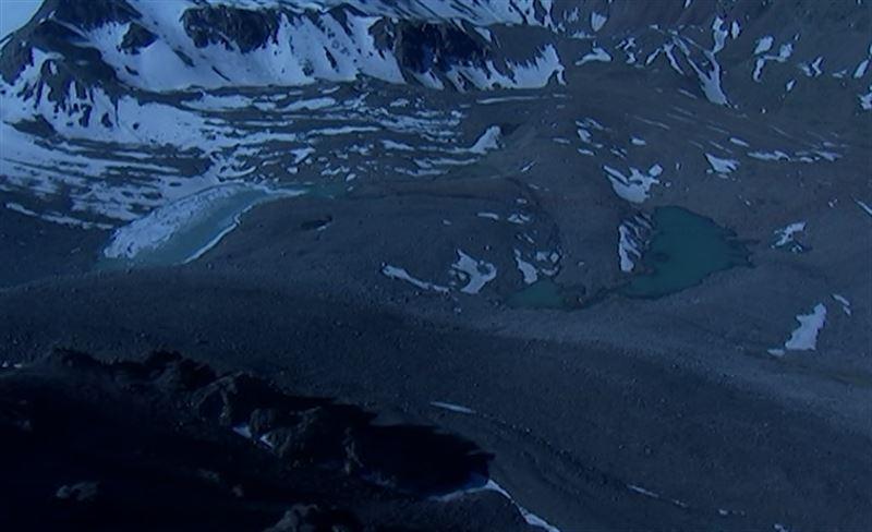 В Алматы из-за таяния ледников наполняются моренные озера
