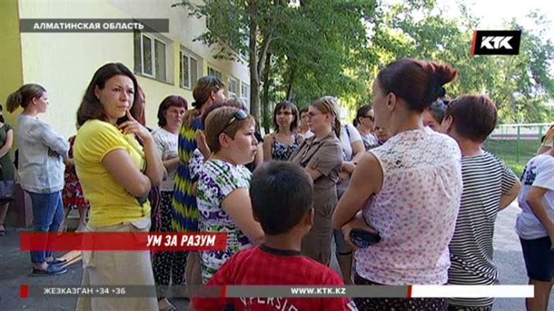 Cотни детей попросили из талгарской школы, потому что она теперь для одарённых