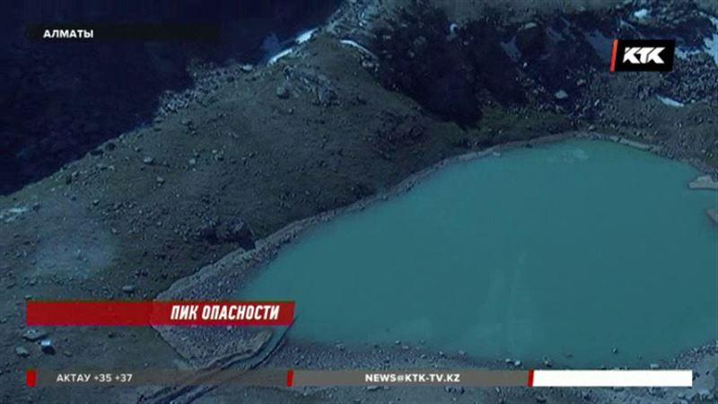 Из-за таяния ледников моренные озера в алматинских горах могут переполниться