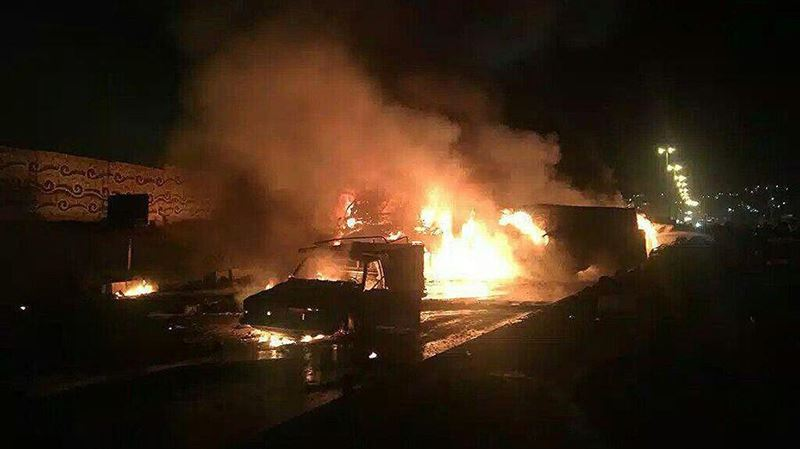 В Иране 27 человек погибли при столкновении бензовоза и пассажирского автобуса