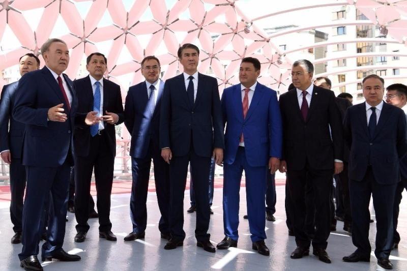 Глава государства Нурсултан Назарбаев поблагодарил акима и жителей Туркестанской области
