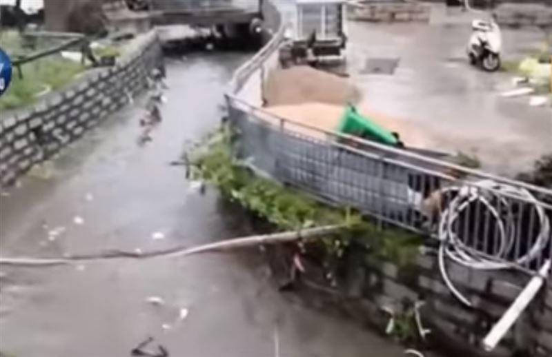 На Китай обрушился мощный тайфун «Мария»