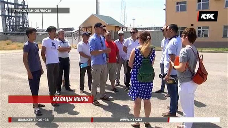 Түркістан облысында жалақы алмаған жұмысшылар кімнен көмек сұрарын білмейді