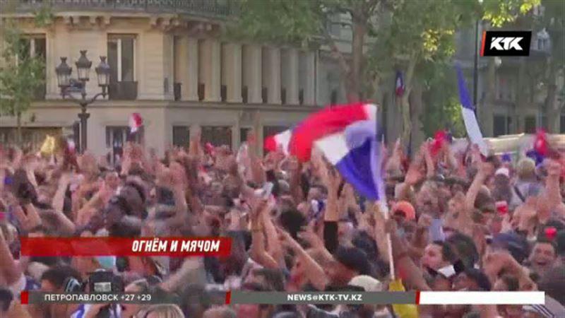 Болельщики устроили погромы и в Париже, и в Брюсселе