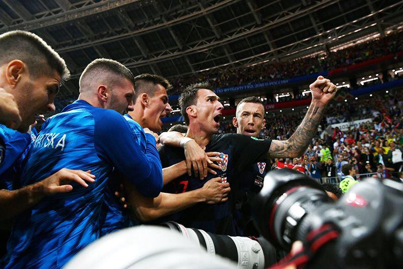 Хорватия победила Англию и вышла в финал ЧМ впервые в истории