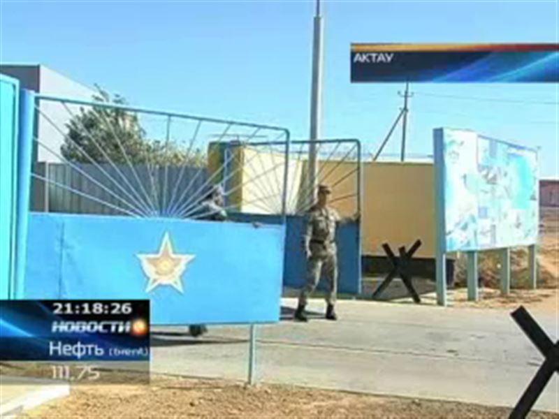 В Актау офицеры ВВС устроили поножовщину
