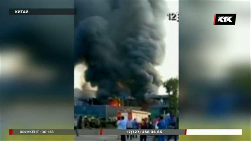 Взрыв на химическом заводе в Китае