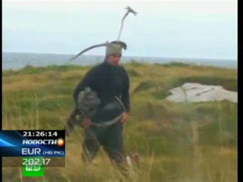 Российские спасатели обнаружили в Белом море настоящего робинзона