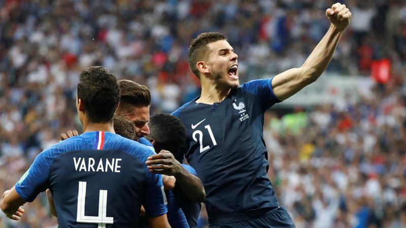 Сборная Франции стала победителем Чемпионата мира по футболу-2018