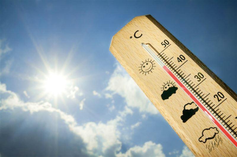 Еліміздің бірқатар жерінде 43 градусқа дейін ыстық болады
