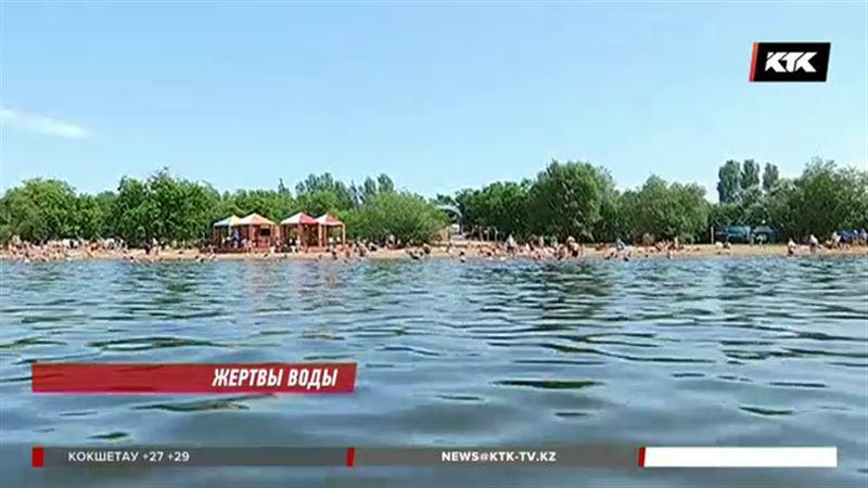 Число утонувших в Казахстане растет