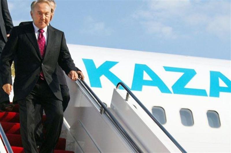 Президент прибыл с рабочим визитом в Павлодар