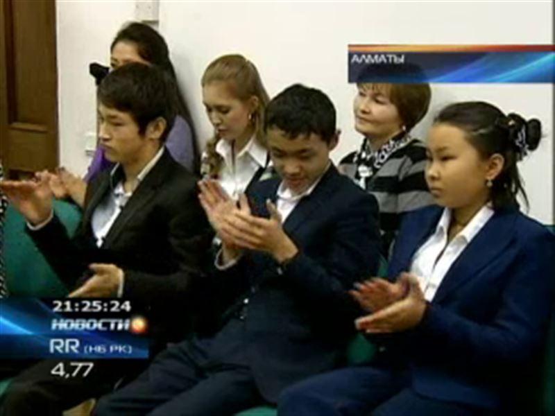 Воспитанники детских домов Алматы побывали в одной из самых интересных библиотек страны