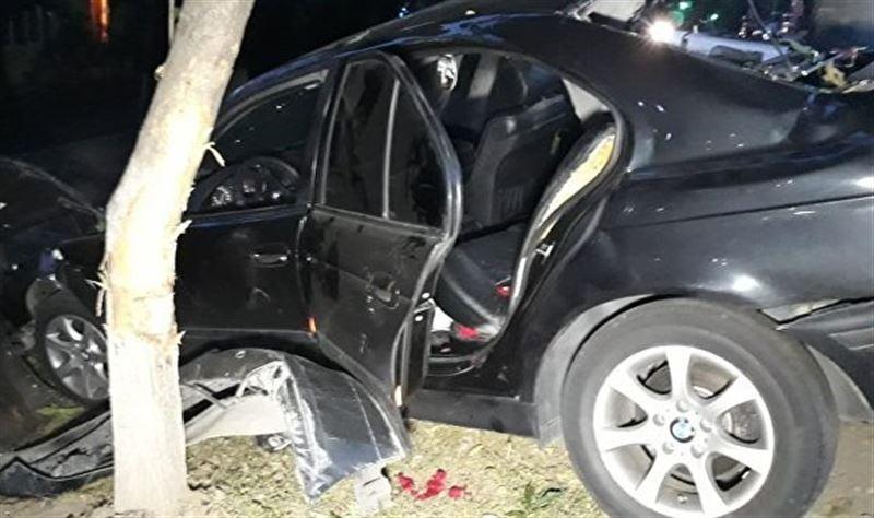 В результате жуткой аварии в Алматы пострадали две девушки