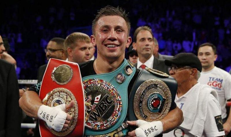 Геннадий Головкин признан лучшим в истории чемпионом WBC