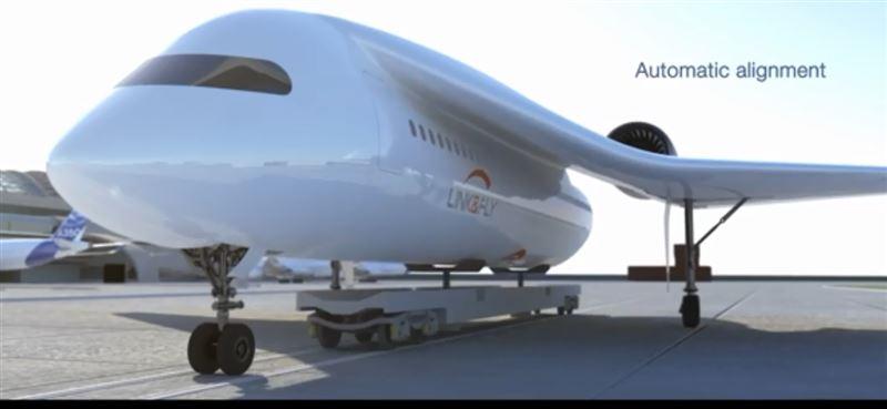 Французские инженеры продемонстрировали гибрид самолета и поезда