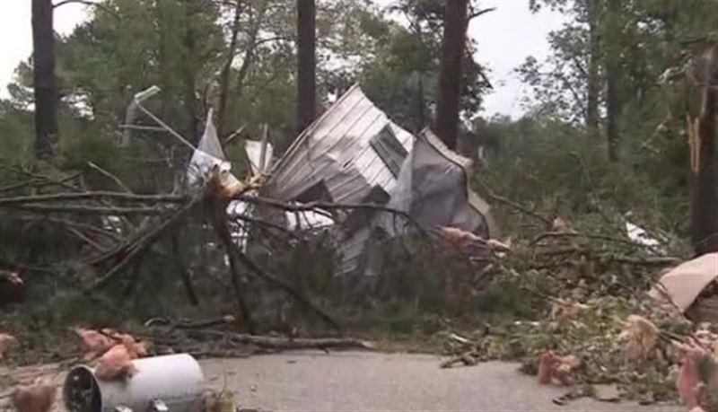 Мощный торнадо разбушевался в штате Айова
