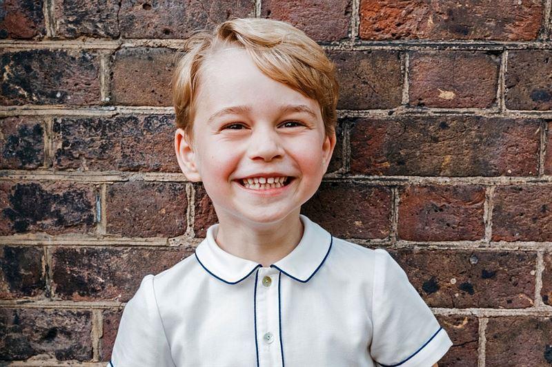 Кейт Миддлтон и принц Уильям отмечают пятилетие принца Джорджа