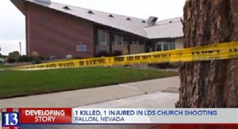 В результате стрельбы в мормонской церкви погиб один человек