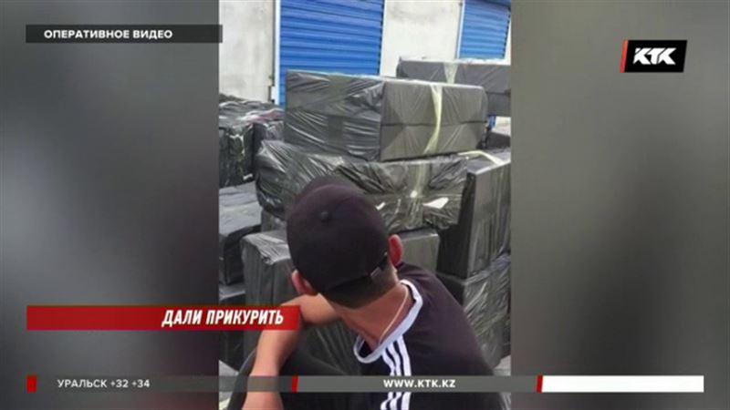 Как сигаретные контрабандисты хотели обхитрить таможенников