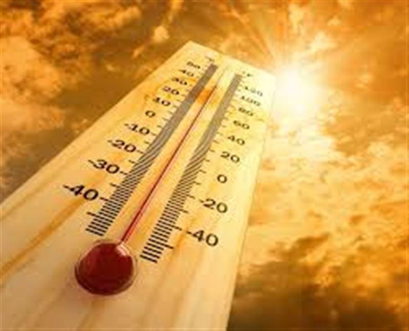 Ауа райы: оңтүстік-батыста сынап бағанасы 40...42 градусқа дейін жоғарылайды