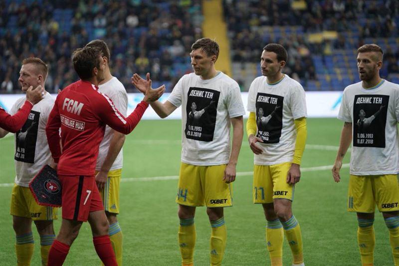 Футболисты команды «Астаны» одержали победу в матче второго раунда Лиги чемпионов
