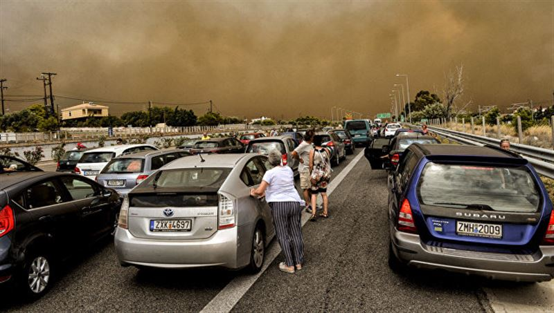 Число погибших при пожарах в Греции возросло до 70